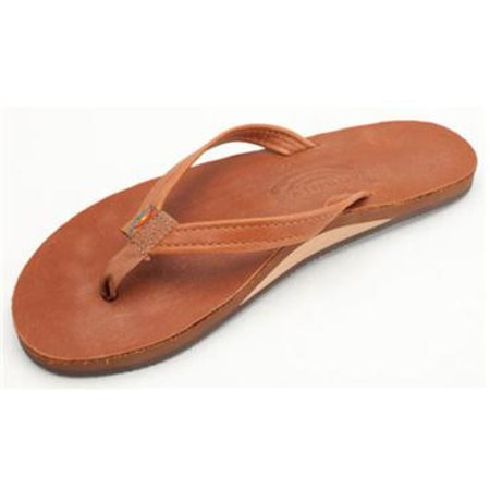 Rainbow Sandals Rainbow Dames Classic Leather Tan Brown Sandals