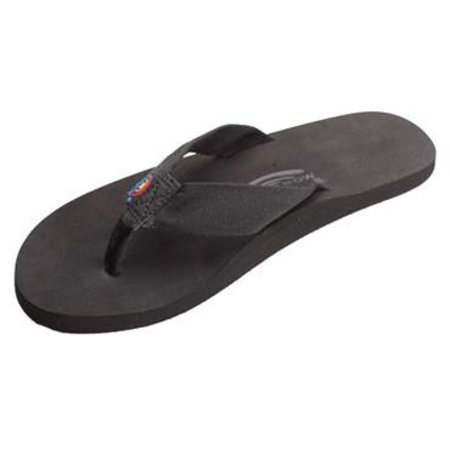 Rainbow Sandals Rainbow Heren The Cloud Rubber Black Sandals