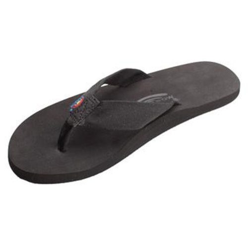Rainbow Sandals Rainbow Men's The Cloud Rubber Black Sandals