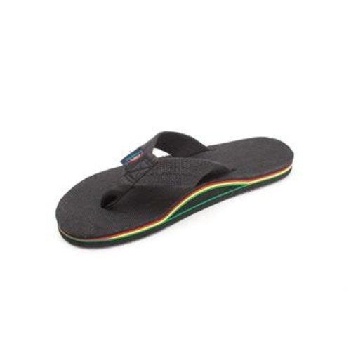 Rainbow Sandals Rainbow Heren Hemp Rasta Sandals