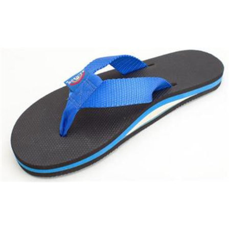 Rainbow Sandals Rainbow Men's Classic Rubber Blue/Black Sandals