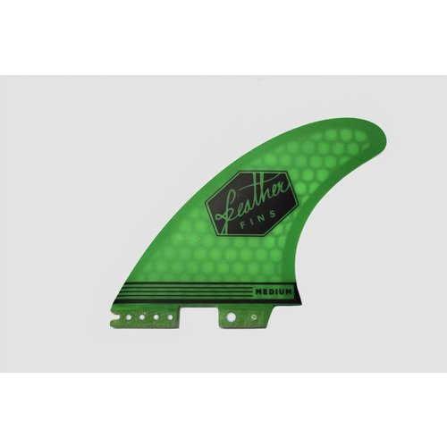 Feather Fins Feather Fins FCS II Ultralight Thruster Fins Green