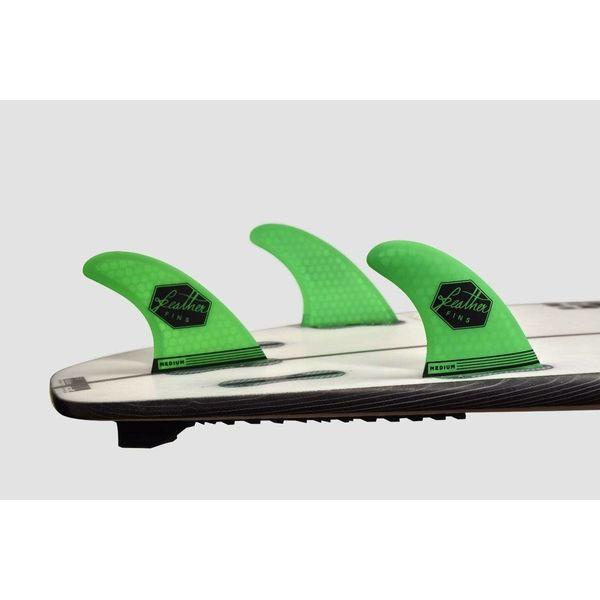 Feather Fins FCS II Ultralight Thruster Fins Green