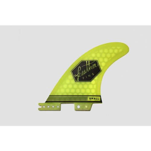 Feather Fins Feather Fins FCS II Ultralight Thruster Fins Yellow