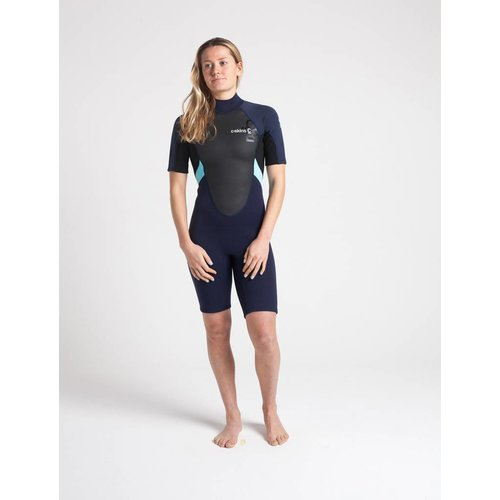 C-Skins C-Skins Element 3/2 Dames Blue Shorty Wetsuit
