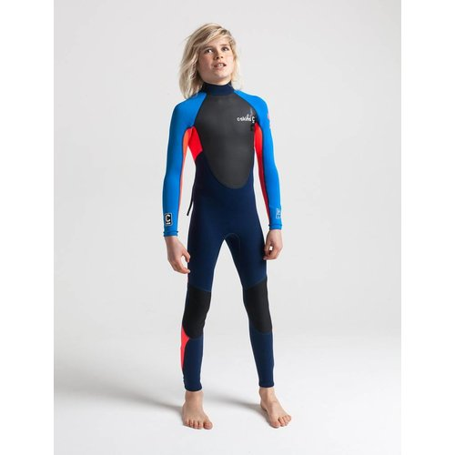 C-Skins C-Skins Element 3/2 Kids Blauw/Rood Wetsuit