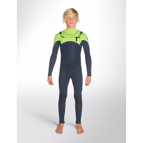 C-Skins C-Skins Legend 4/3 Kinder Zomer Wetsuit Blue/Lime