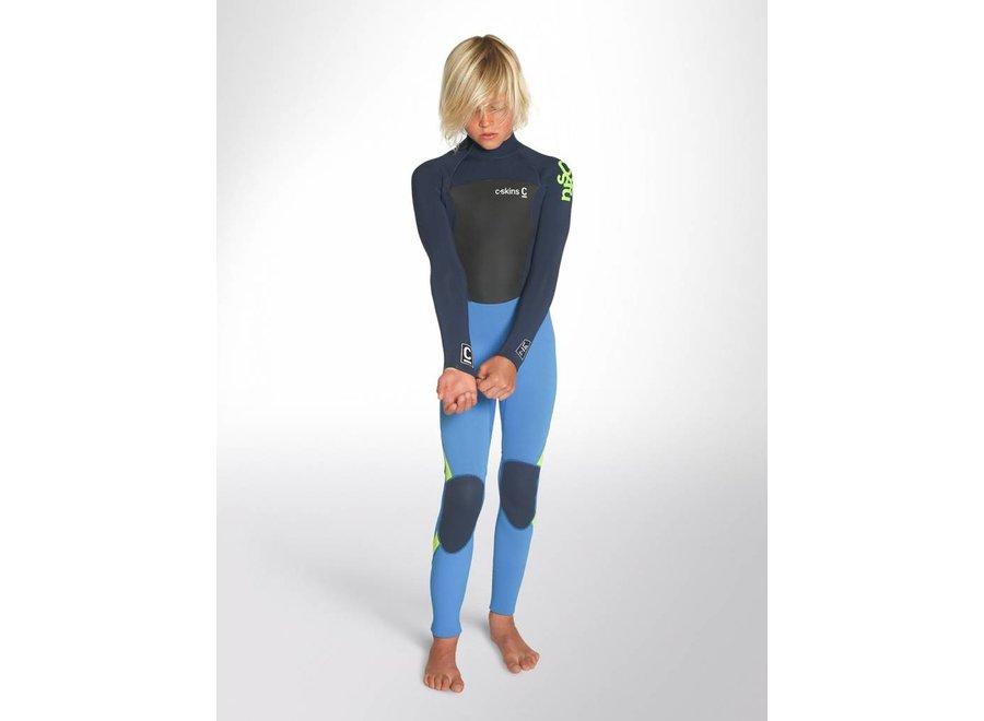 C-Skins Legend 5/4/3 Children's Wetsuit Cyan / Blue / Lime