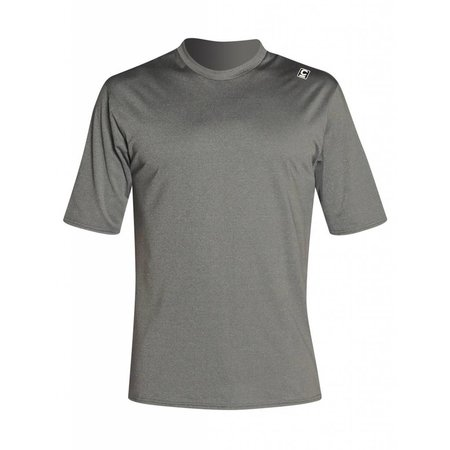 C-Skins C-Skins Heren Lycra Surf Tee Short Sleeve Deep Grey Heather