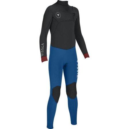 Vissla Vissla 7 Seas 4/3 Kids Summer Wetsuit 50/50 Blue