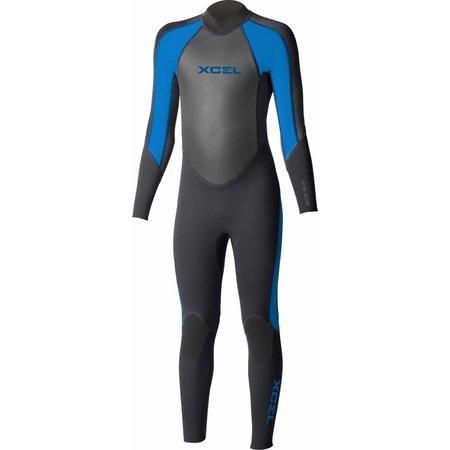Xcel Xcel GCS 3/2 Kinder Zomer Wetsuit Zwart/Blauw