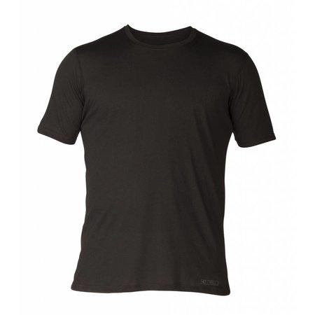 Xcel Xcel Heren ThreadX Lycra Short Sleeve Solid Black