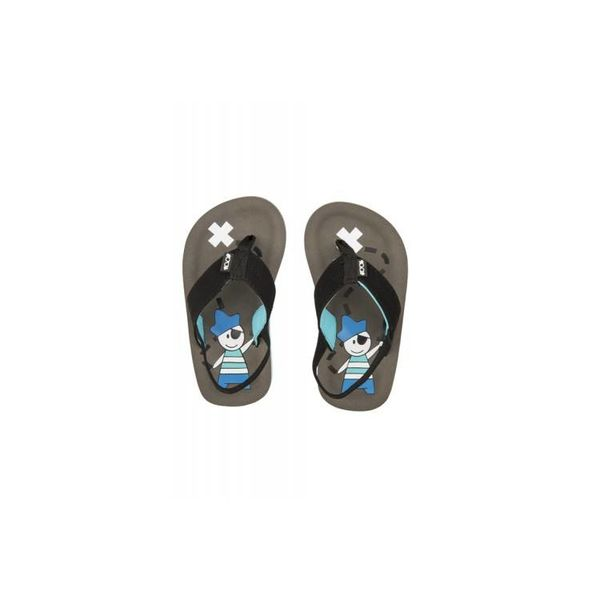 Cool Shoe Kids Pirate Gray Slippers