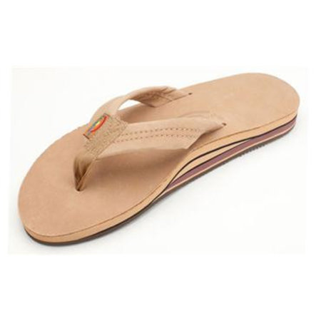Rainbow Sandals Rainbow Heren Premier Leather Sierra Brown Double Layer Sandals