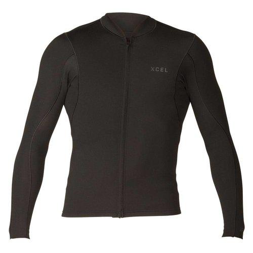 Xcel Xcel AXIS 1/0.5mm LS Heren Zip Jacket