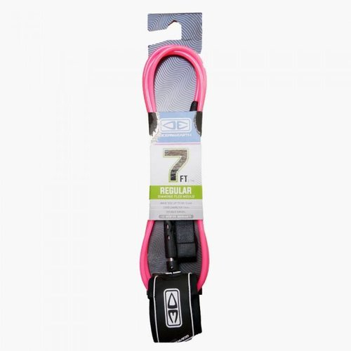 Ocean & Earth O&E 7ft Regular Pink Ankle Leash