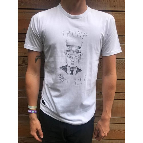 Baron Clothing Baron Clothing Heren Trump Blanc Tee