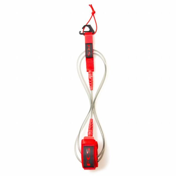 FCS 6ft Comp Leash Red