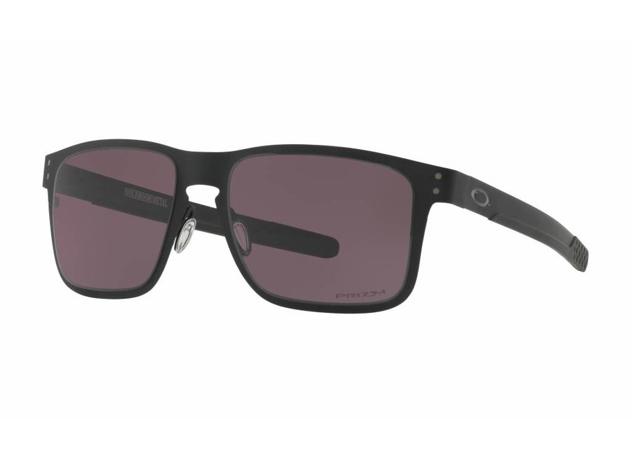 Oakley Holbrook Metal Matte Black Prizm Grey Sunglasses