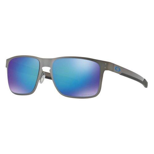 Oakley Oakley Holbrook Metal Matte Gunmetal Prizm Sapphire Polarized Zonnebril