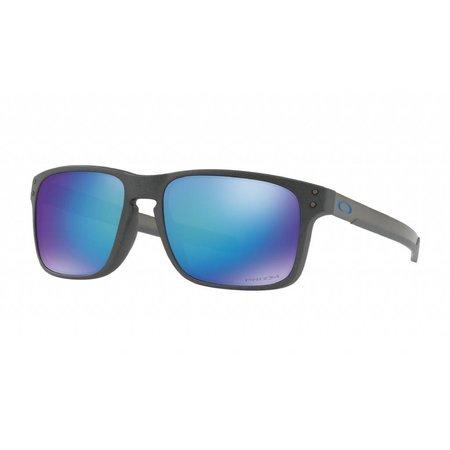 Oakley Oakley Holbrook Mix Steel Prizm Sapphire Polarized Zonnebril