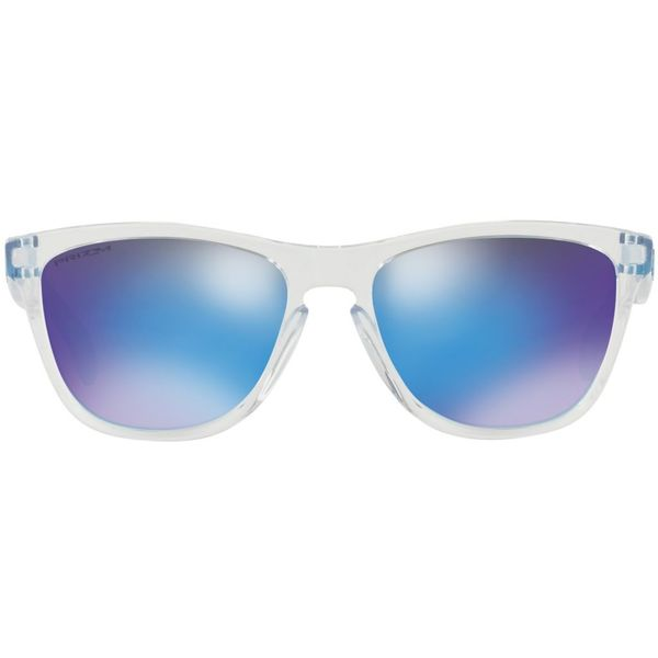 Oakley Frogskins Crystal Clear Prizm Sapphire Zonnebril