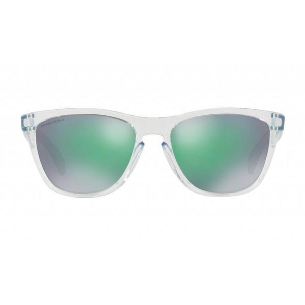 Oakley Frogskins Crystal Clear Prizm Jade Iridium Zonnebril