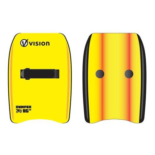 Vision Vision Dumper 16'' Hand Plane Body Surfboard Lime