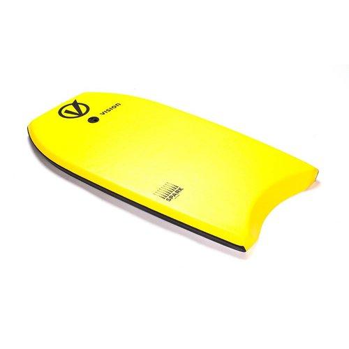 Vision Vision Spark Yellow/Black Bodyboard 36''