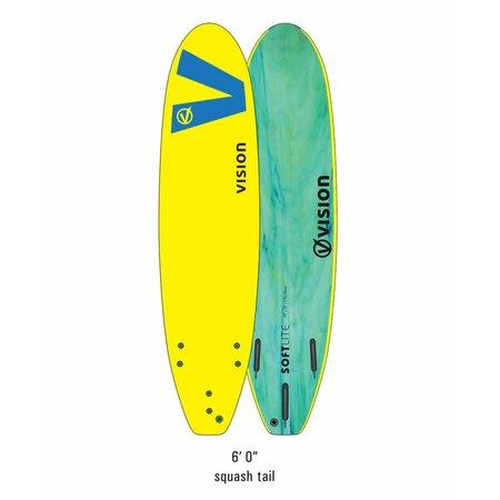 Vision Vision Softlite Yellow/Royal Blue 6'0''
