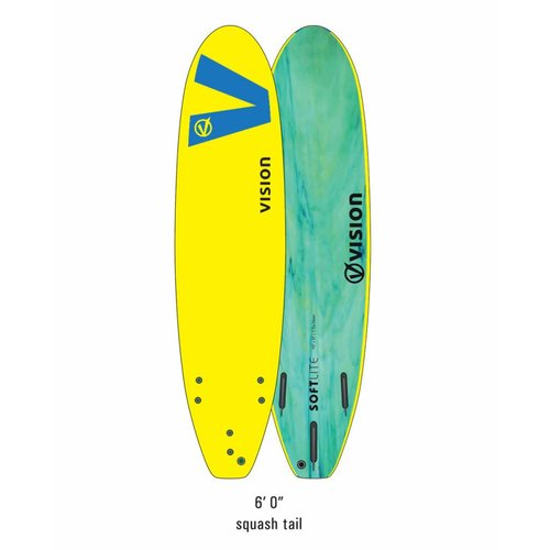 Vision Vision Softlite Yellow/Royal Blue 6'0''