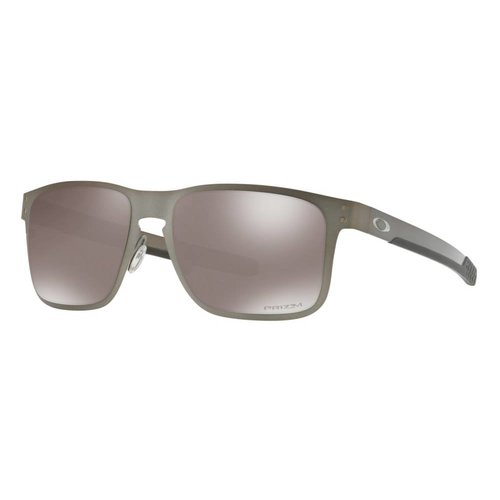 Oakley Oakley HolBrook Matte Gunmetal Prizm Sapphire Polarized Zonnebril