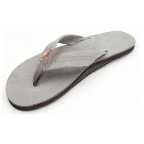 Rainbow Sandals Rainbow Men's Premier Leather Single Layer Grey Sandals