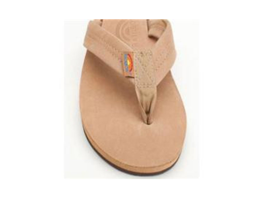 Rainbow Dames Classic Leather Double Layer Sandals