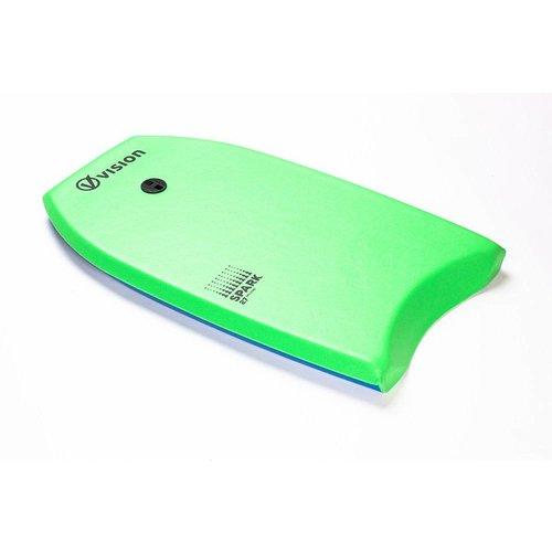 Vision Vision Nippers Spark Bodyboard 27'' Green/Royal Blue