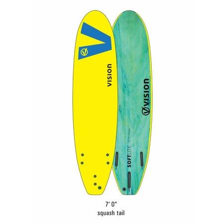 Vision Vision Softlite Yellow/Royal Blue 7'0''
