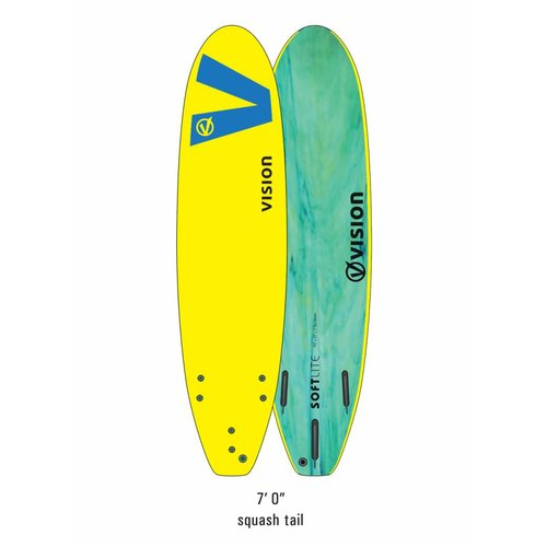 Vision Vision Softlite Yellow/Royal Blue 7'0''