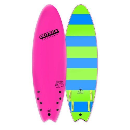 Catch Surfboards Catch Odysea 6'6'' Skipper Quad Hot Pink