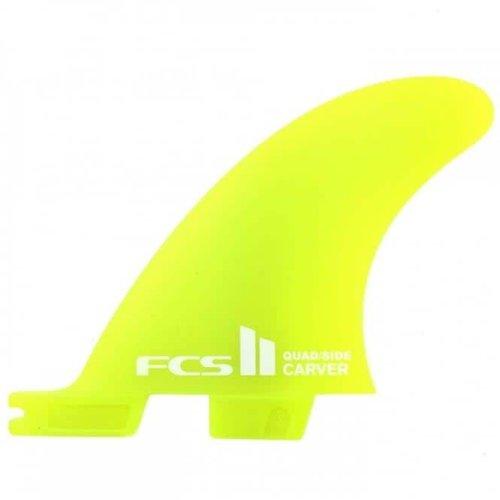 FCS FCS II Carver Quad Rear Yellow Side Bites