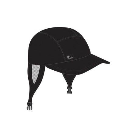 Creatures of Leisure Creatures Black Surf Cap