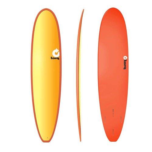 Torq 8'0'' Longboard Full Fade Red Yellow Orange Deck
