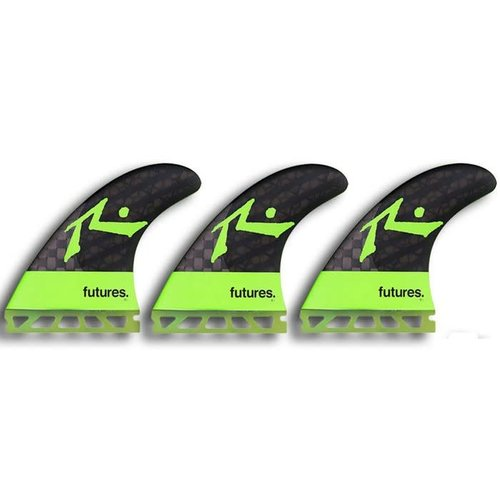 Futures Fins Futures R1 Blackstix Rusty Green Thruster Fins