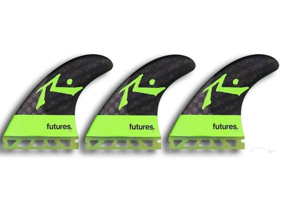 Futures R1 Blackstix Rusty Green Thruster Fins