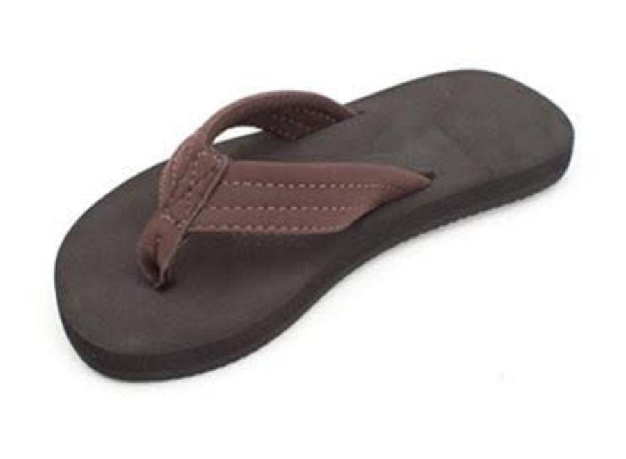 Rainbow Kinder Brown Strap Sandals