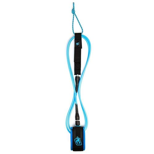 Creatures of Leisure Creatures 6ft Comp Leash Cyan Black