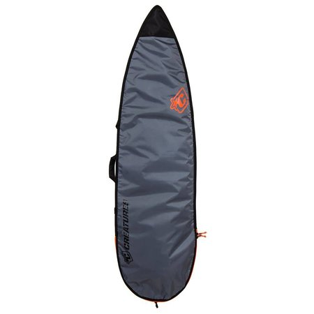 Creatures of Leisure Creatures Lite Shortboard Charcoal Boardbag