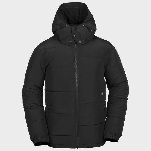 Heren Artic Loon Black Jacket