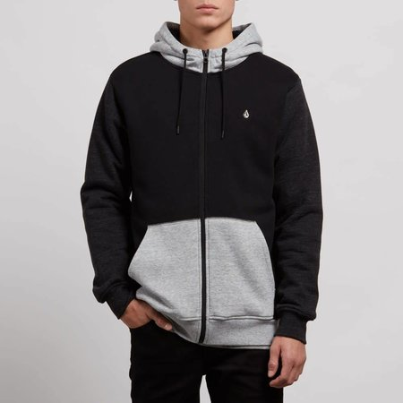 Volcom Volcom Heren Single Stone Lined Zip Hoodie
