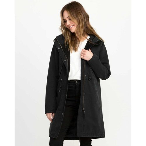 RVCA RVCA Dames Highlands Black Parka