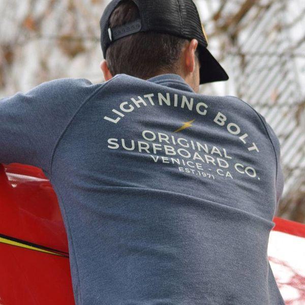 Lightning Bolt Heren Venice Surf Co Crew